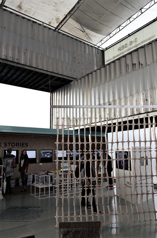 Cradle to Cradle mads møller design week kvæsthusmolen container architecture container pavilion container arkitektur