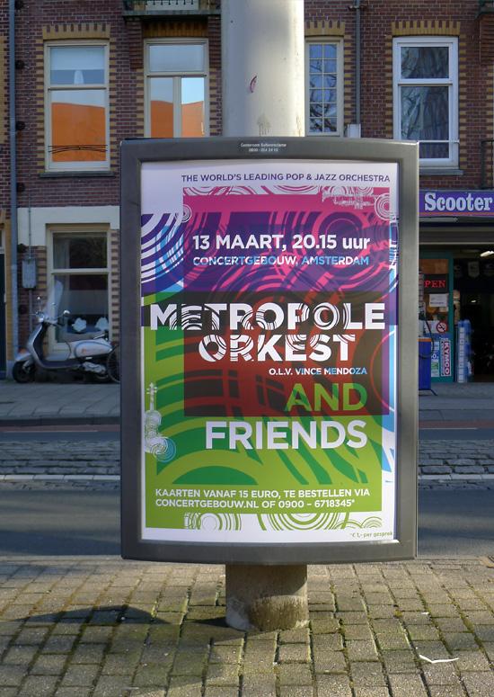 metropole orkest  identity  typography  me studio  amsterdam  posters