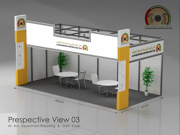 Exhibition Stand Layout Design : D exhibition stands layouts on behance