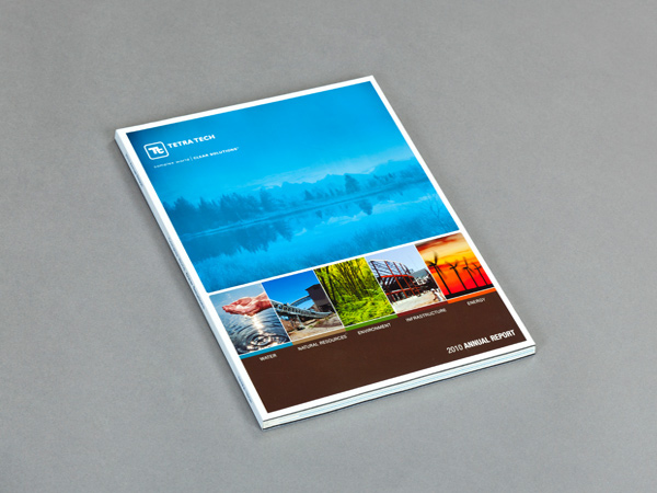 Creative Book Report Covers ~ Tetra tech annual report on behance