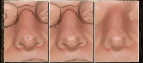Digital Painting Tutorial: Nose v1