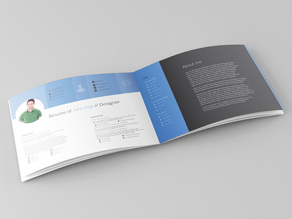28 pages portfolio  u0026 resume template on behance
