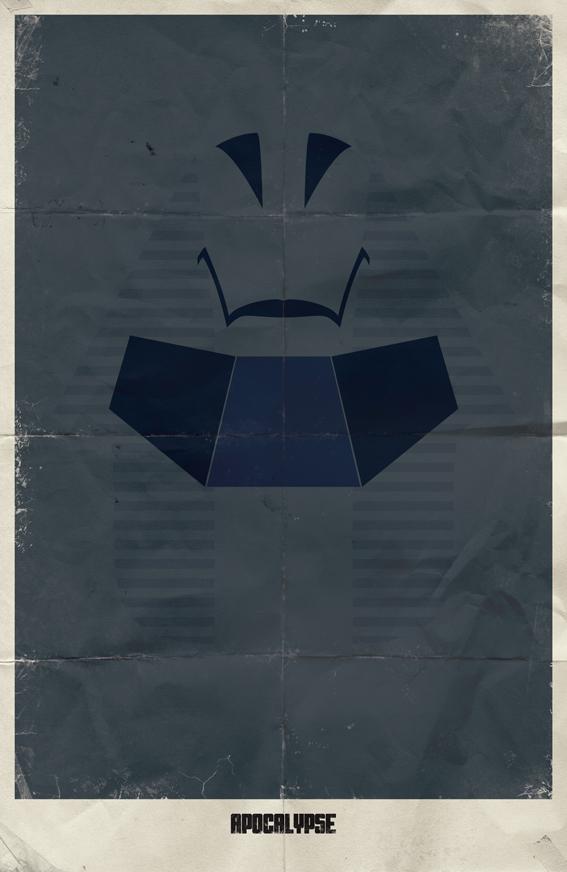 minimalist poster comics vintage