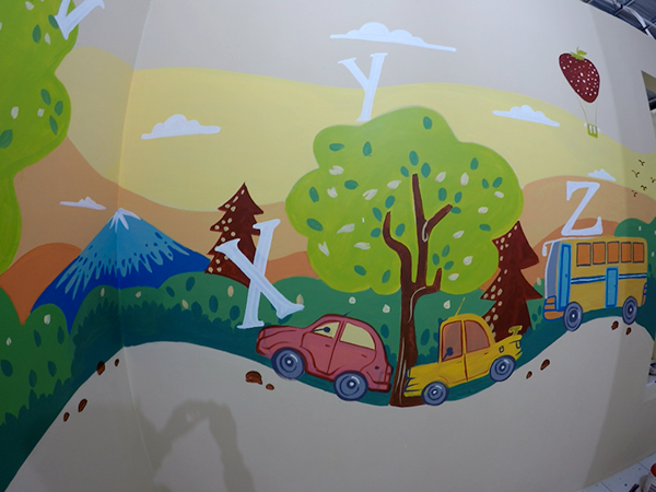 Mural for kids on behance for Mural untuk kanak kanak