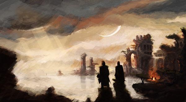 kalevala Il secondo chiarore dunwich ruins fire moon