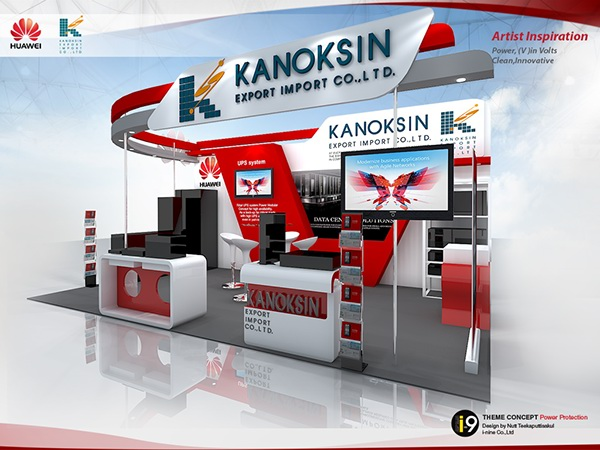 Exhibition Booth Bangkok : Huawai kanoksin cdid bitec bangna on behance