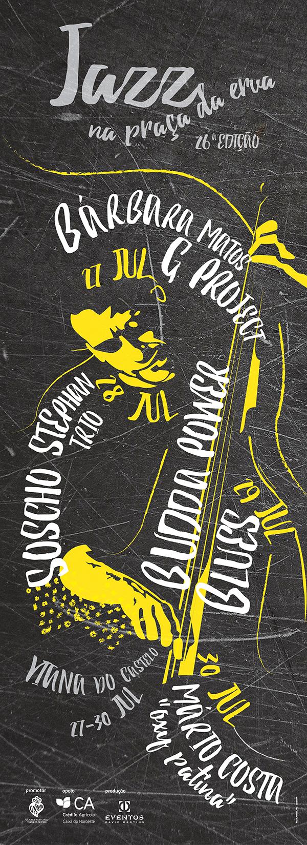 jazz poster viana do castelo Portugal