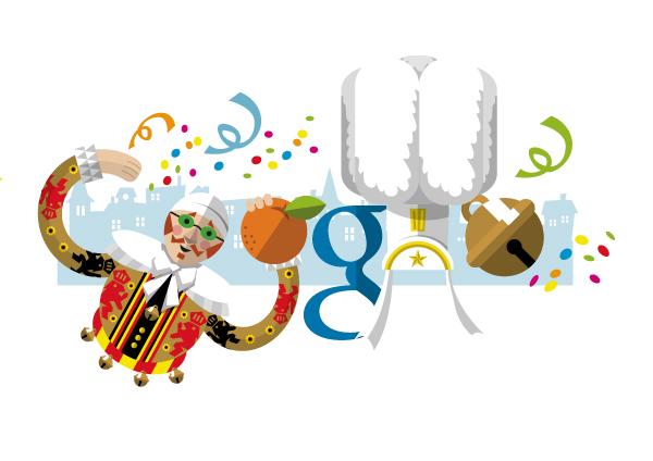 google logo carnival of binche theme on wacom gallery