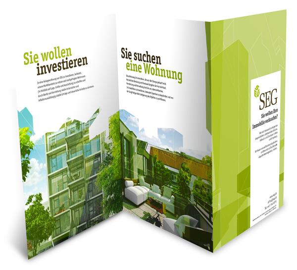 brochure Corporate Identity real estate