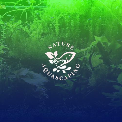 Logo Nature Aquascaping On Behance