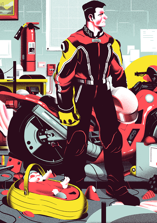 Personnal illustrations_part TWO by Nicolas Dehghani