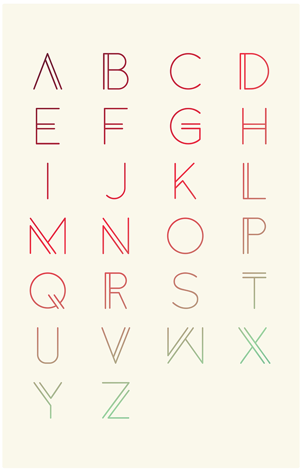 anders  free font  on behance