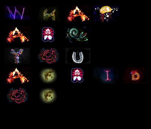 fear afraid alphabet