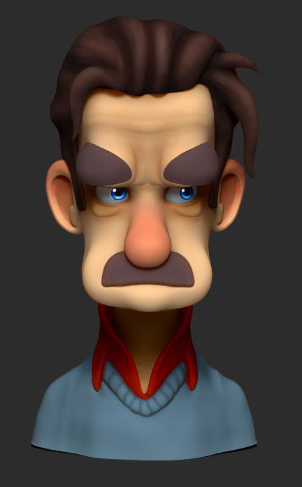 mousteche character randy bishop