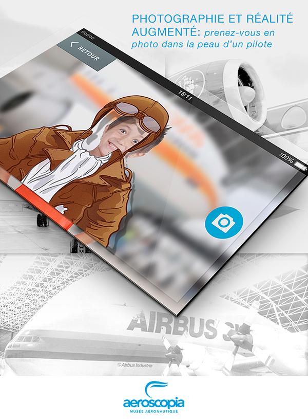 aeroscopia  musée aéronautique Blagnac Mobile app application mobile