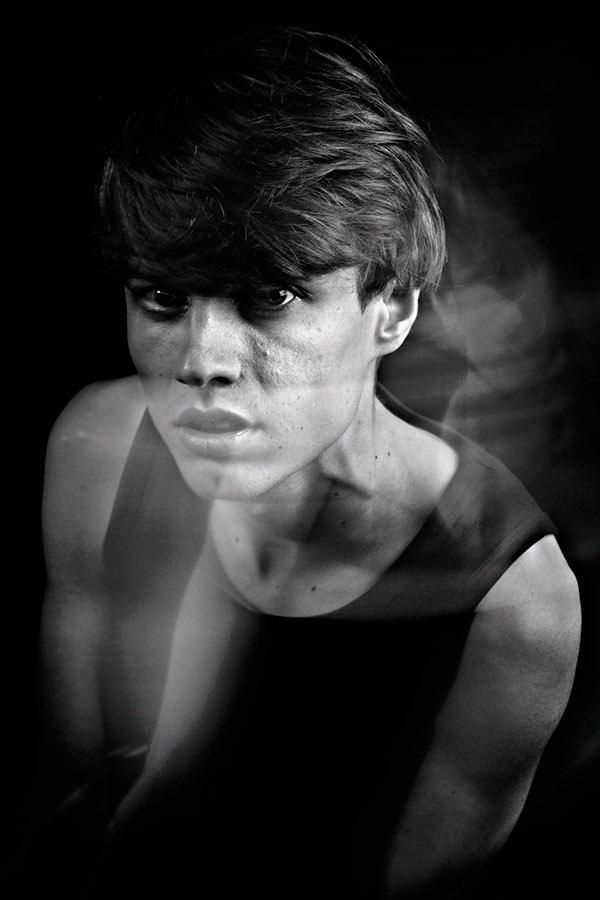 portraits color Black&white