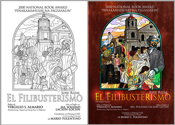 "conclusion on noli me tangere and el filibusterismo He published his first novel ""noli me tangere"" in belgium in the cover symbols noli me tangere a sequel to the el filibusterismo."