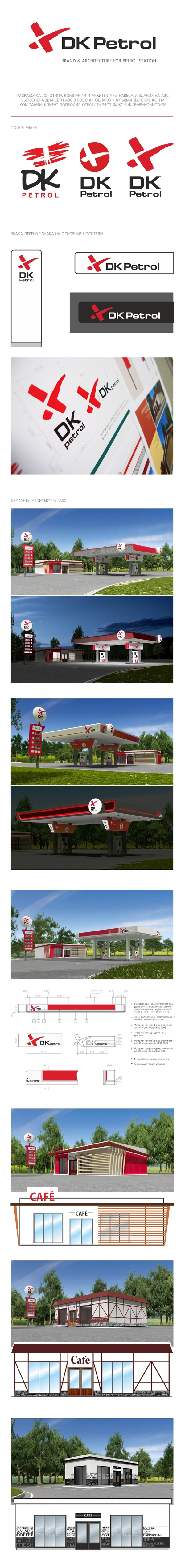 Petrol station branding