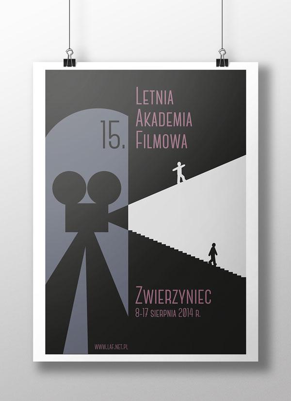plakat poster festiwal zwierzyniec akademia filmowa Łukasz Wąs