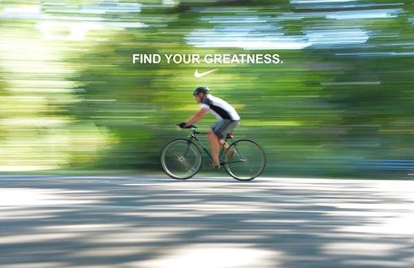 Nike Find Your Greatness On Behance
