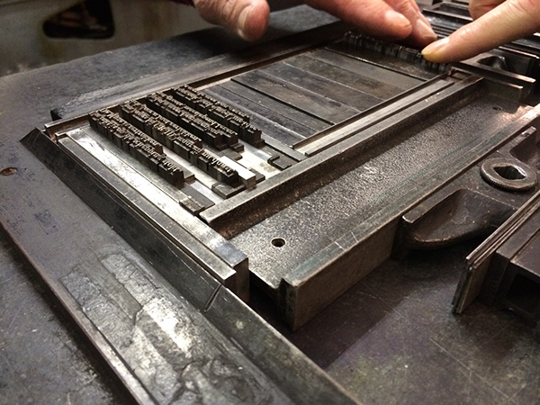 GR-ID letterpress drukken
