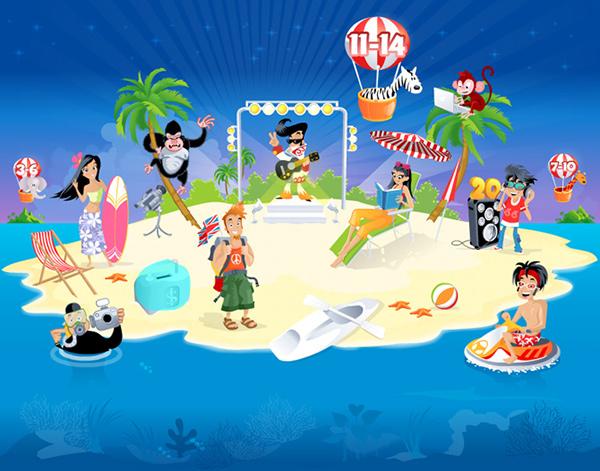 Island children Magical