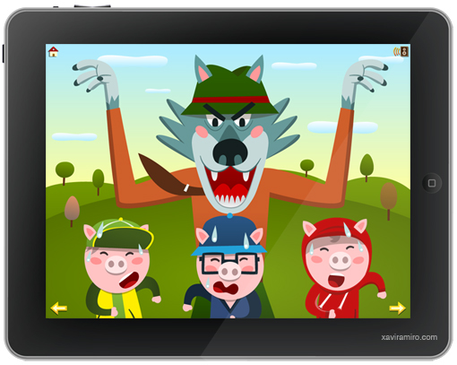 The Three Little Pigs for iPad and iPhone.