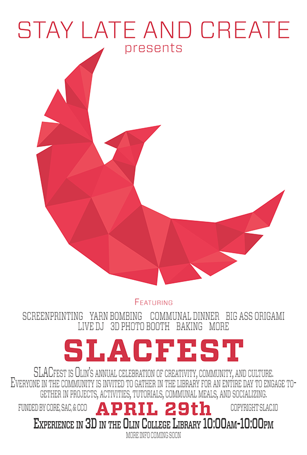 Slacfest 2016 Movie Poster Promotion On Student Show