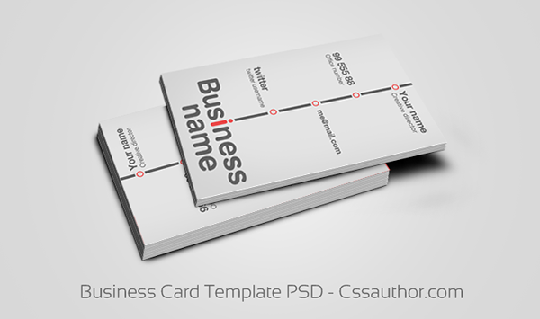 Business card templates psd on behance reheart Choice Image