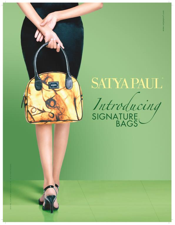 bag launch dress Satya Paul designer wear