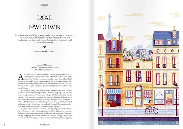 Paris NY London Travel editorial magazine guestbook Bike
