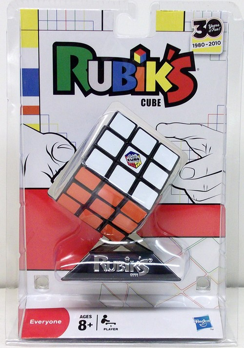 above) is the current 30th Anniversary packaging for Rubik's Cube
