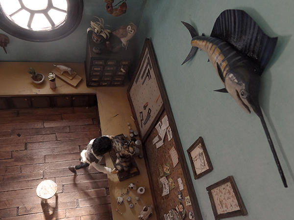 taxidermy museum puppets