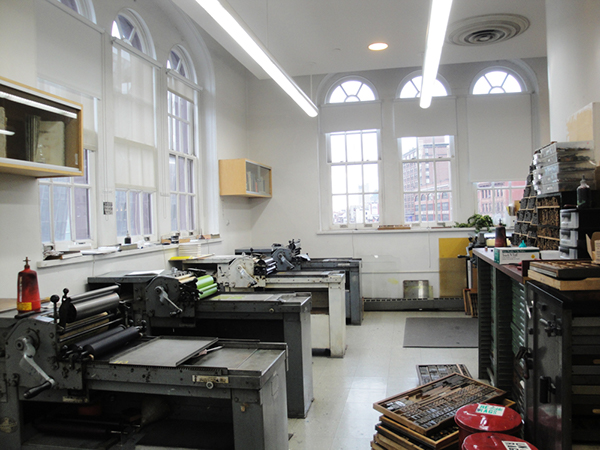 letterpress printmaking lettering