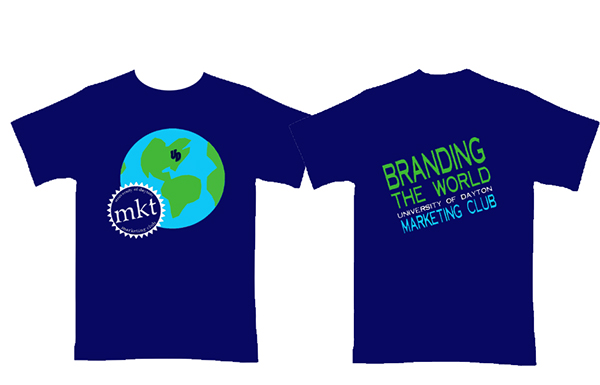 ud marketing club 2012 official t shirt design on behance