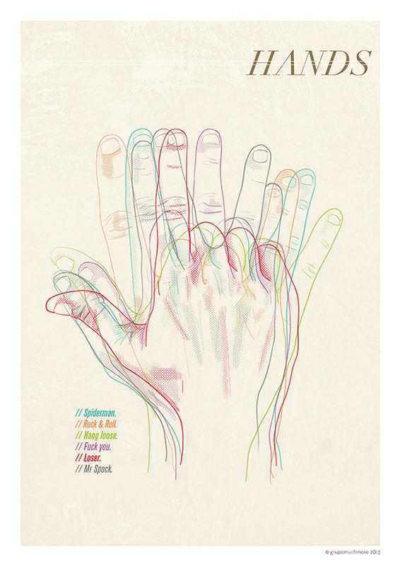 mano Manos hand hands ilustacion colores lineas