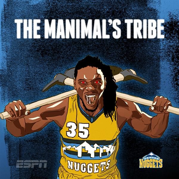 ESPN NBA Illustrations On Behance
