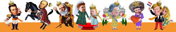 Holland Nederland  koningin beatrix koningshuis  oranje  europa  elfstedentocht