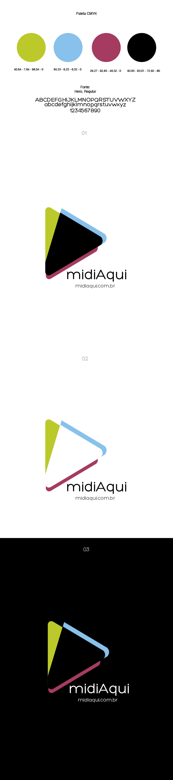 logo flat design brand