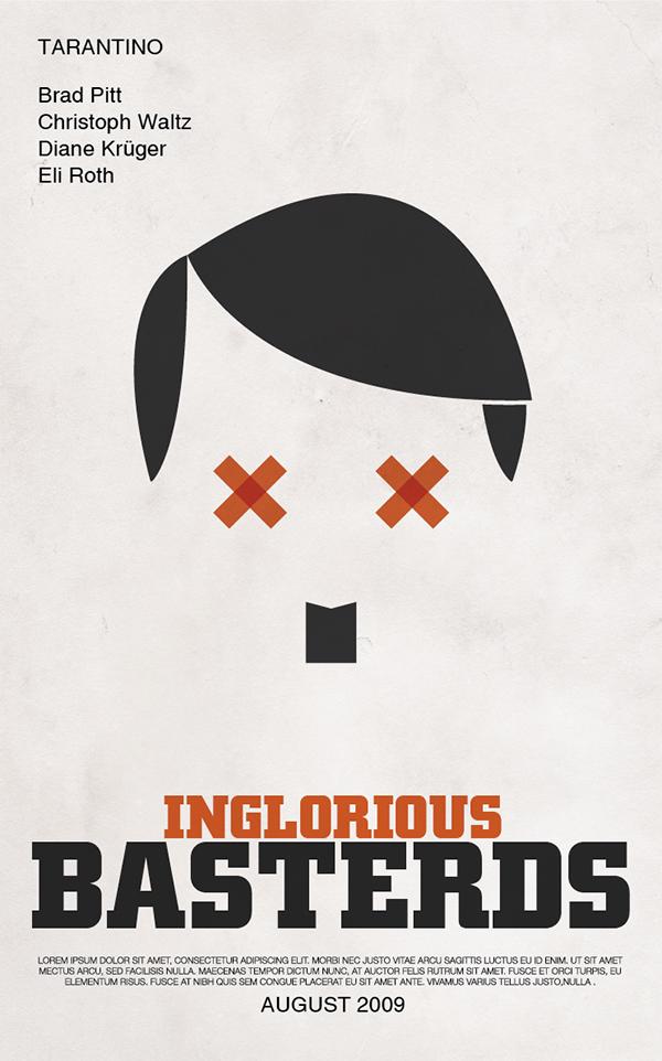 Tarantino poster Movies minimal