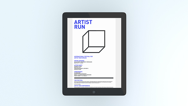art festival art artist run gallery poster design grid grid typeography