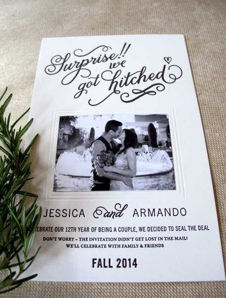 Reception Invitations After Eloping is great invitations design