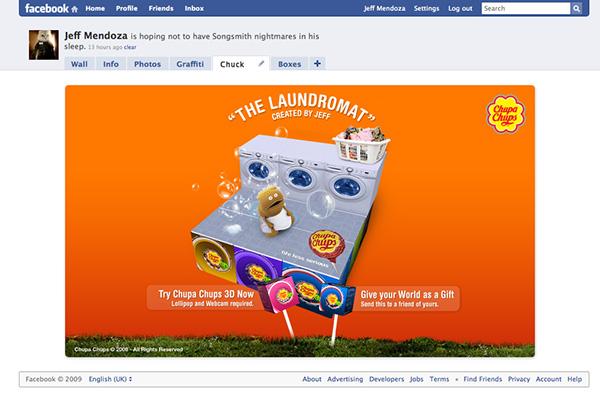 augmented reality chupa chups Perfetti interactive Jeff Mendoza