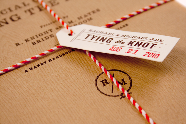Tying The Knot   RK+MM Wedding Invitations On Behance