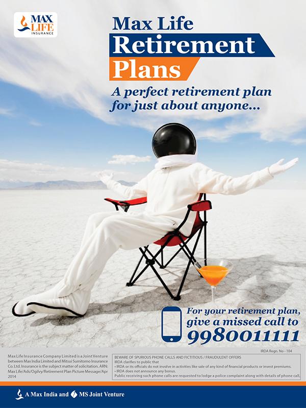 Max Life Insurance Ads