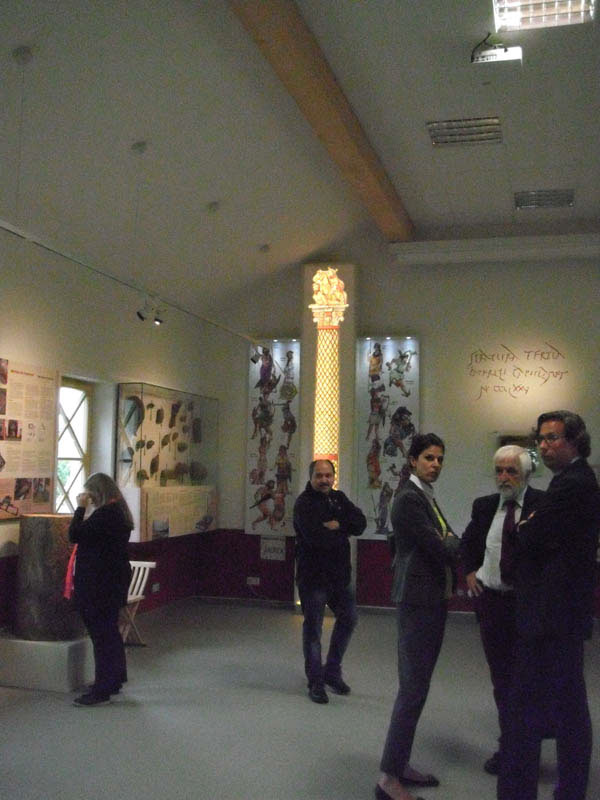Roman Gods Roman Goddesses hercules Fortuna Jupiter Column Exhibition Illustration watercolour linedrawing watercolor educational illustration reconstructional illustration Romans