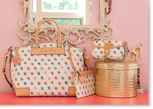 still life Product Photography handbags accesories Dooney & Bourke pocketbook