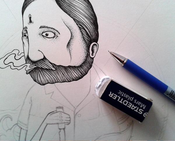 mobydick sea books tattoo streetart paper pen