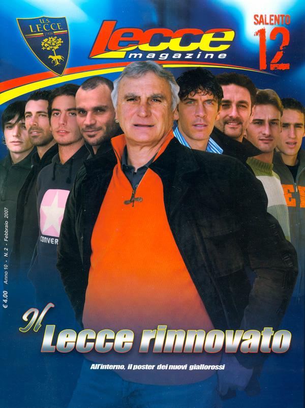 Lecce Magazine match day Lecce salento Salento12 rivista calcio football