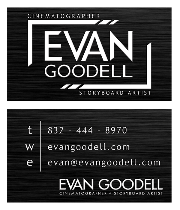 Evan Goodell Personal Brand Identity on Behance